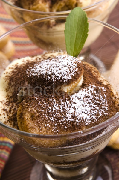 Tiramisu Dessert  Stock photo © joannawnuk