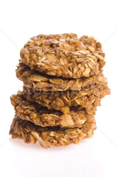 oat cakes on a white background  Stock photo © joannawnuk