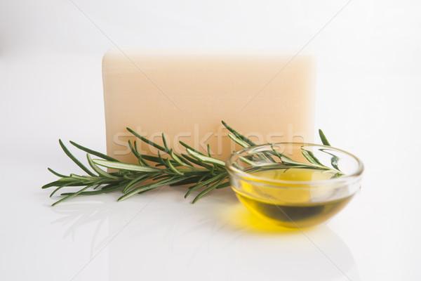 Rosemary Handmade Soap Stock photo © joannawnuk