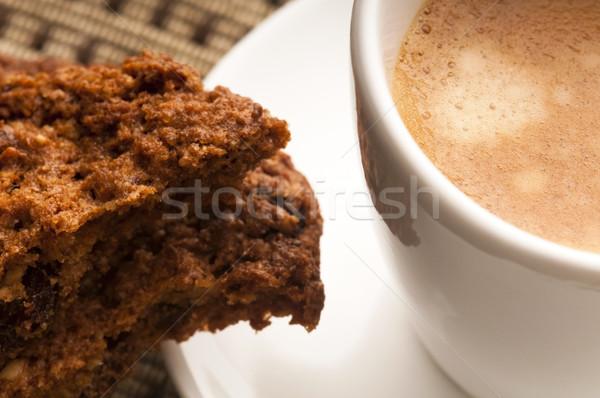 クッキー ホット コーヒー カフェ アフリカ 黒 ストックフォト © joannawnuk