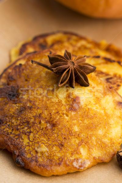 тыква корицей хлеб золото рынке жира Сток-фото © joannawnuk