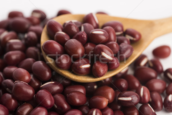 Red haricot beans (Adzuki) Stock photo © joannawnuk