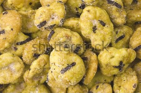 Wasabi бобов продовольствие фон зеленый жира Сток-фото © joannawnuk