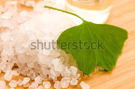ginkgo biloba bath Stock photo © joannawnuk
