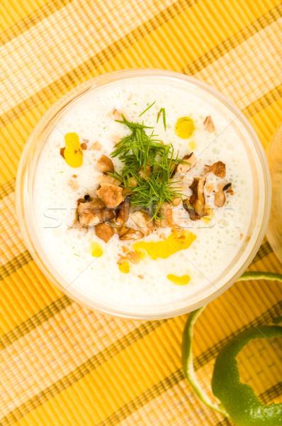 ストックフォト: 伝統的な · 冷たい · 夏 · スープ · ランチ · 新鮮な