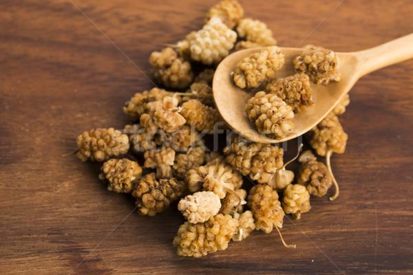 dried mulberry Stock photo © joannawnuk