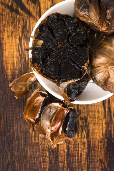 Black garlic Stock photo © joannawnuk