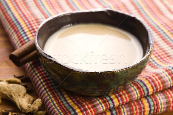 Masala chai Stock photo © joannawnuk