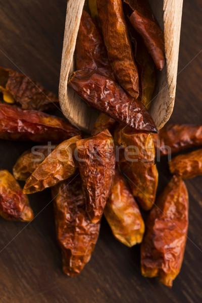 hot birds eye peppers Stock photo © joannawnuk
