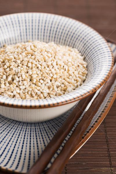 Greggio perla orzo alimentare grano impianto Foto d'archivio © joannawnuk