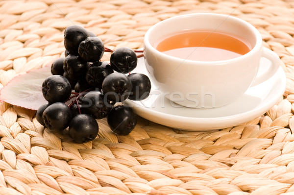 Black chokeberry tea Stock photo © joannawnuk