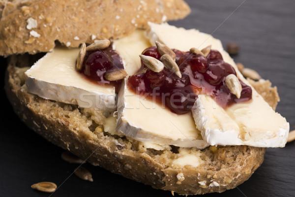 Pan servido camembert madera queso Foto stock © joannawnuk