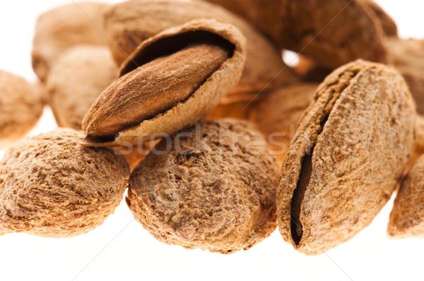 Sweet almonds with kernel  Stock photo © joannawnuk