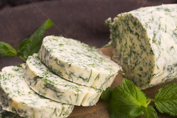 Kruiden boter tuin groene citroen vers Stockfoto © joannawnuk