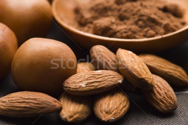 Stock fotó: Marcipán · krumpli · hozzávalók · csokoládé · csoport · cukorka