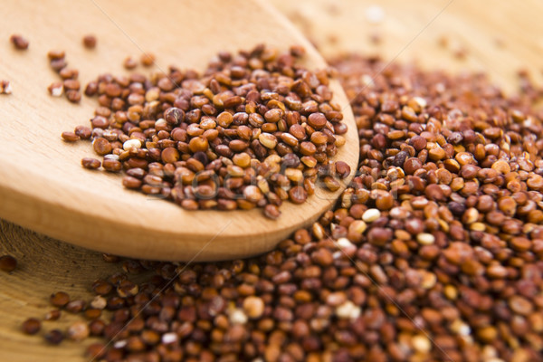 Red Quinoa grain Stock photo © joannawnuk