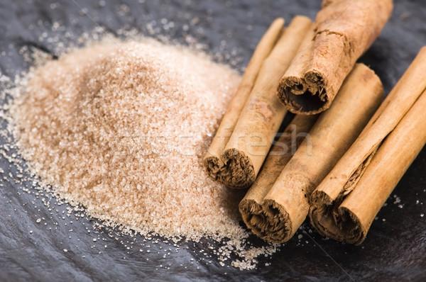 Aromatico spezie zucchero di canna cannella sfondo energia Foto d'archivio © joannawnuk