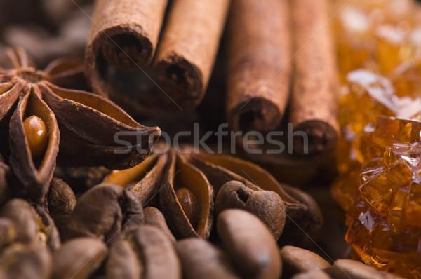 Ingredientes anis canela raio Foto stock © joannawnuk