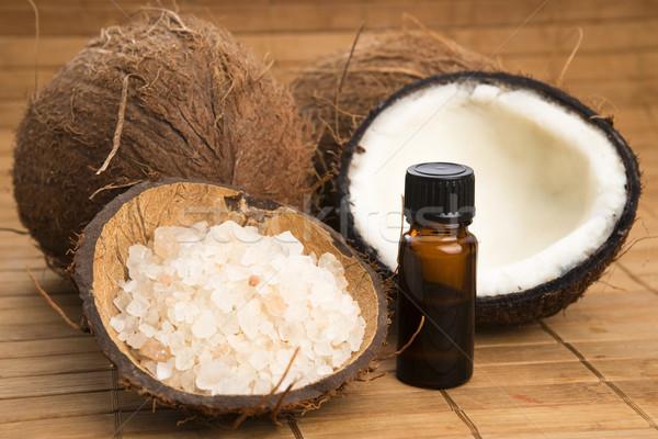 Coconut oil for alternative therapy  Stock photo © joannawnuk