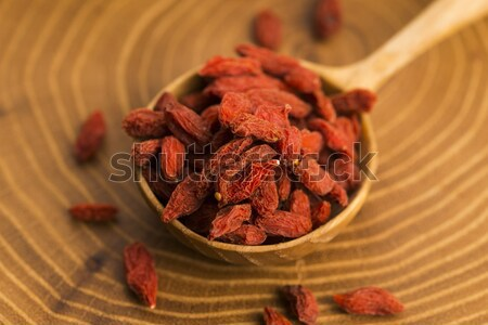 Portion of dried Goji Berries (also known as Wolfberry) Stock photo © joannawnuk