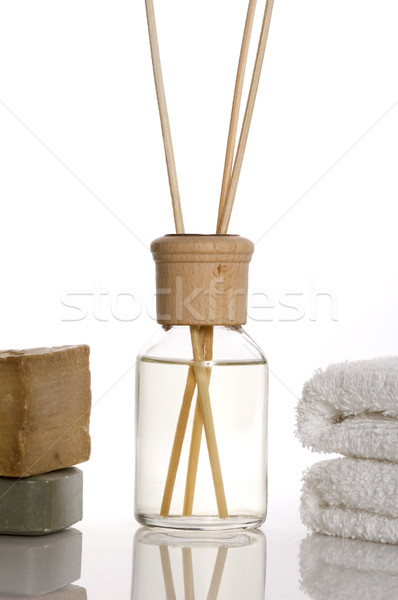 аромат терапии объекты бутылку нефть Сток-фото © joannawnuk