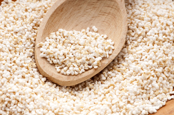 Amaranth popping, gluten-free, high protein grain cereal Stock photo © joannawnuk