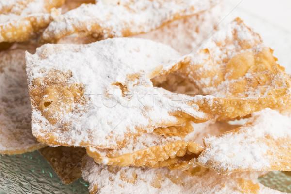 воронка торт белый десерта Sweet торты Сток-фото © joannawnuk