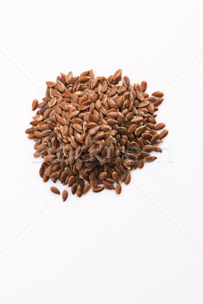 Flax seeds, Linseed, Lin seeds close-up Stock photo © joannawnuk