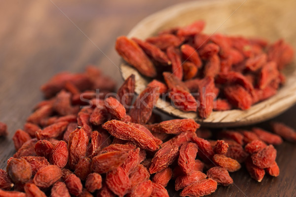 Dried goji berries Stock photo © joannawnuk