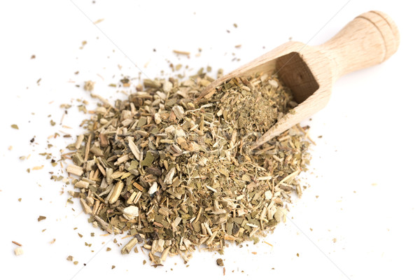 Dry mate tea, isolated on white Stock photo © joannawnuk