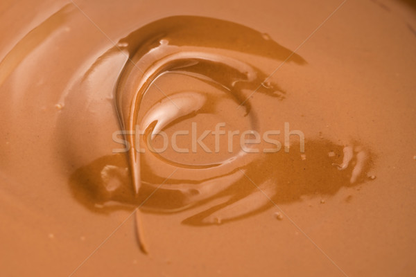 Fondu lait chocolat fond wallpaper vagues Photo stock © joannawnuk