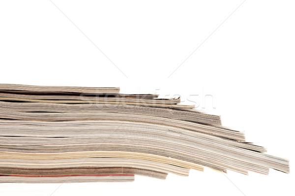 журналы бумаги образование цвета прессы Сток-фото © joannawnuk