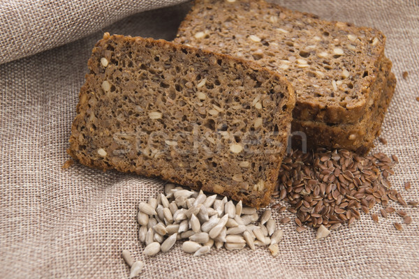 Whole grain bread Stock photo © joannawnuk