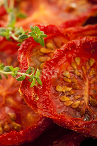 Italiana sole essiccati pomodori semi orizzontale Foto d'archivio © joannawnuk