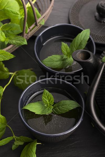 Mint tea Stock photo © joannawnuk