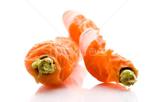 Falat ki friss sárgarépa étel természet Stock fotó © joannawnuk