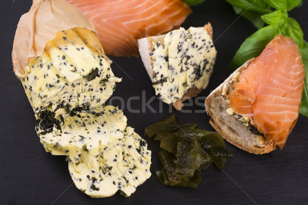 herbs butter Stock photo © joannawnuk