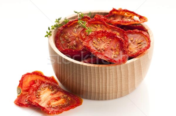 Italien soleil séché tomates semences horizontal Photo stock © joannawnuk