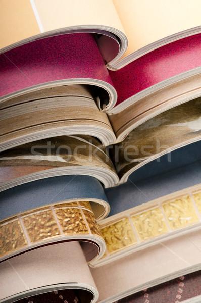 stack of magazines Stock photo © joannawnuk