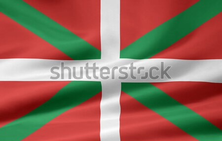 Flag of the Basque Country - Spain Stock photo © joggi2002