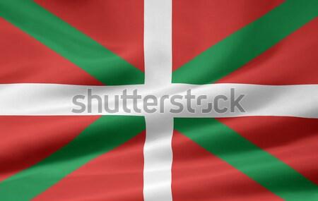 Zászló vidék Spanyolország Európa textil szövetség Stock fotó © joggi2002