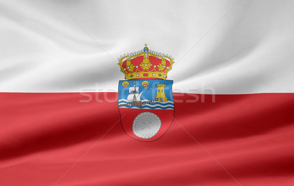 Flag of Cantabria - Spain  Stock photo © joggi2002
