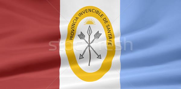 Zászló mikulás Argentína vidék ruha textil Stock fotó © joggi2002