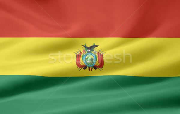 Flag of Bolivia Stock photo © joggi2002