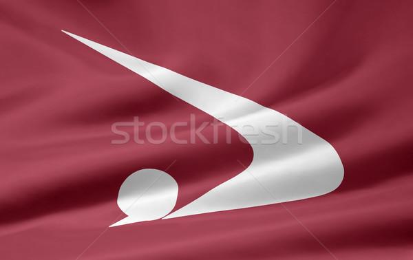 Flag of Akita - Japan Stock photo © joggi2002
