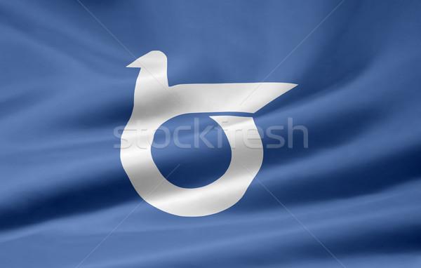 Flag of Tottori - Japan Stock photo © joggi2002