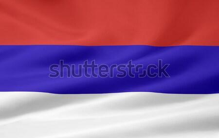 Zászló Svájc nagy futball terv csokoládé Stock fotó © joggi2002