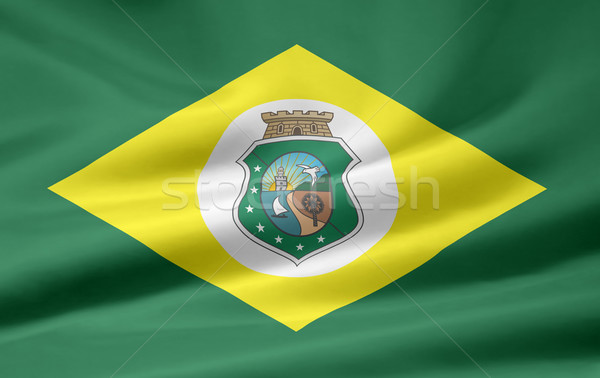 Flag of Ceara - Brasil Stock photo © joggi2002