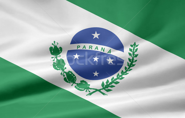 Flag of Parana - Brasil Stock photo © joggi2002