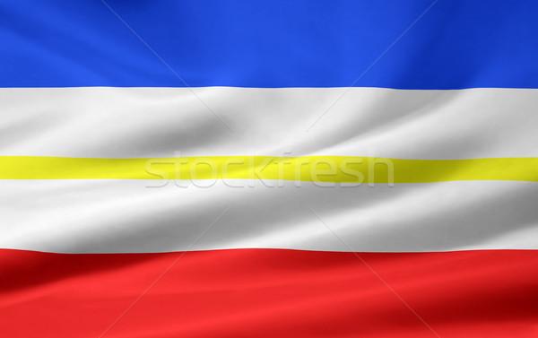 Flag of Mecklenburg Vorpommern Stock photo © joggi2002